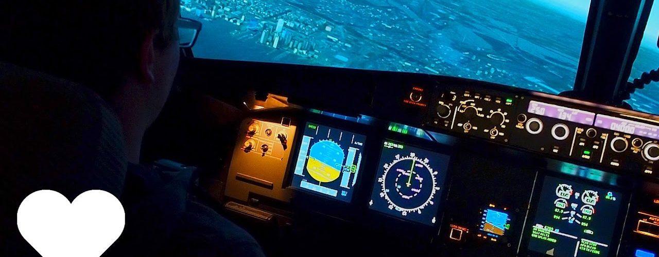 Airbus Flugismulator