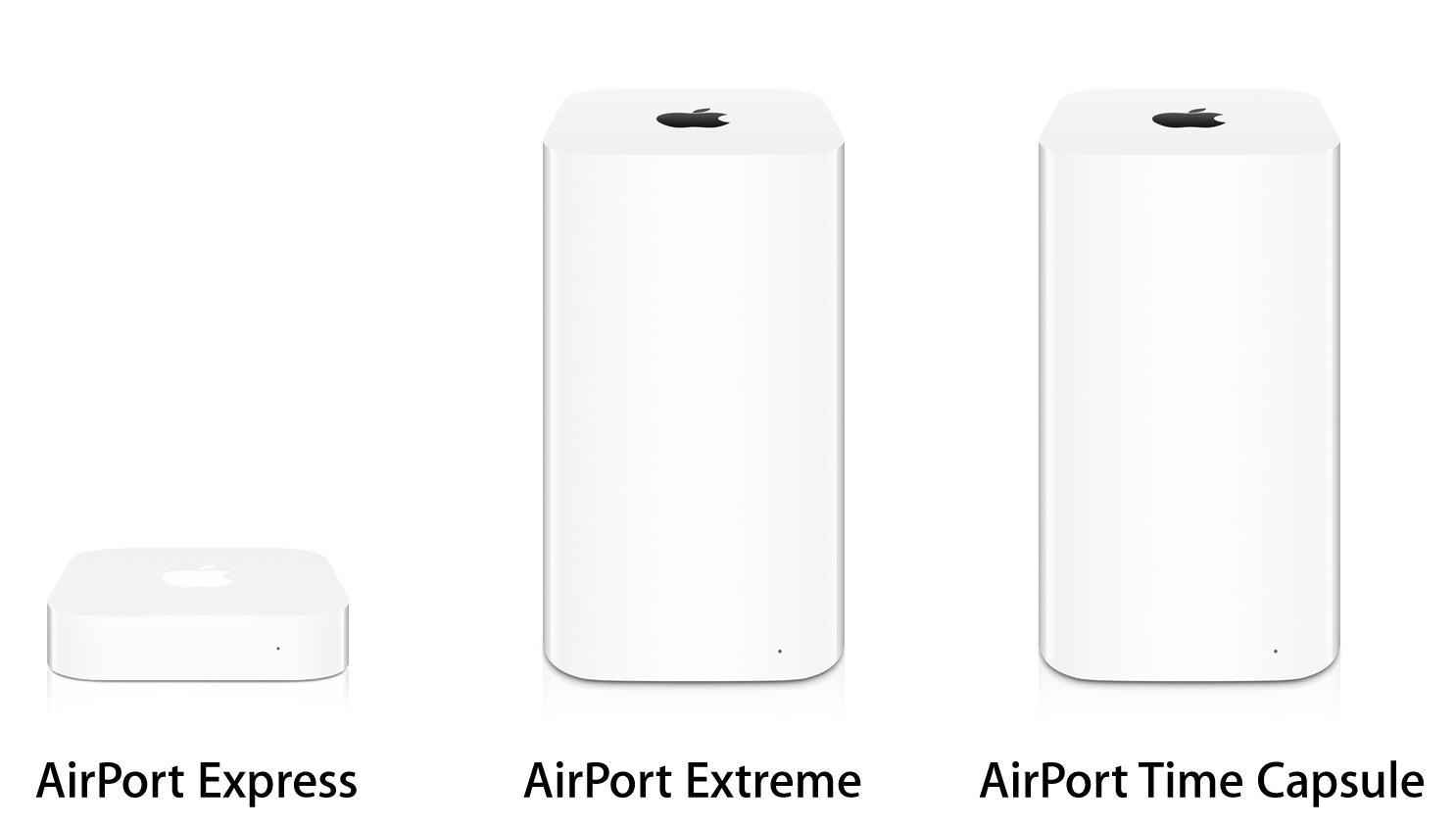 Die Apple AirPort Familie