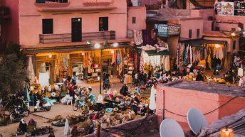 Dinner im Nomad - Marrakesch