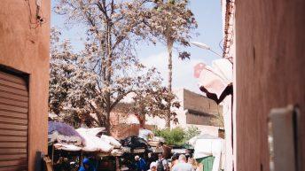 Ein kleiner Souk - Marrakesch