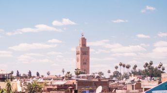 Der Blick über die Altstadt - Marrakesch