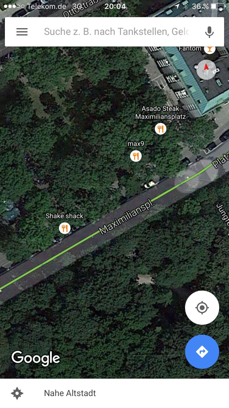 Der mögliche Standort der ersten Shake Shack Filiale in München