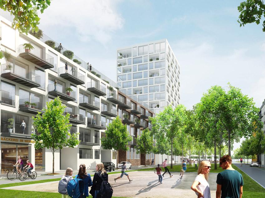 1500 neue Wohnungen entstehen im Werksviertel