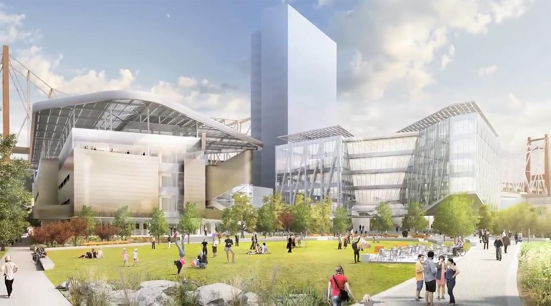 """""""The Bridge"""" verbindet die Uni mit auf dem Campus angesiedelten Unternehmen"""