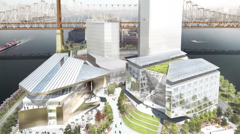 """Der Campus liegt direkt an der """"Ed Koch Queensboro Bridge"""""""