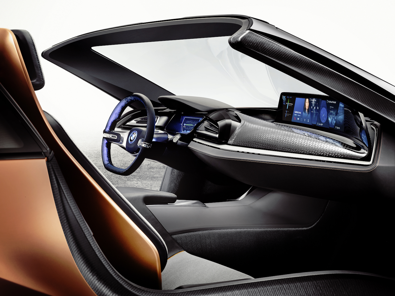 "BMW i8 ""Vision Future Interaction"". Quelle: BMW"