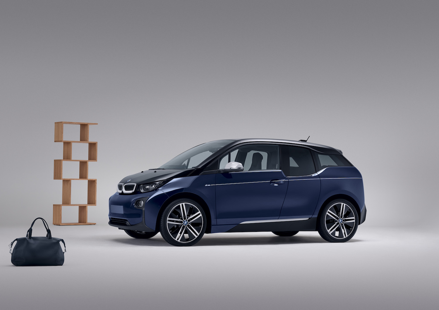 Der limitierte BMW i3 im Mr Porter Design. Quelle: BMW