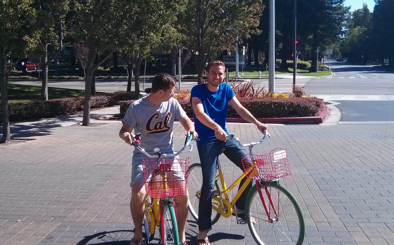 Fahrradtour über den Google Campus 2013