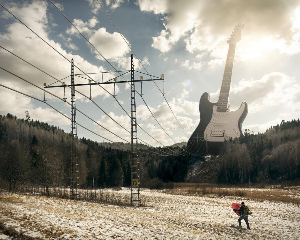"Dieses Werk trägt den simplen Namen ""Electric Guitar"""