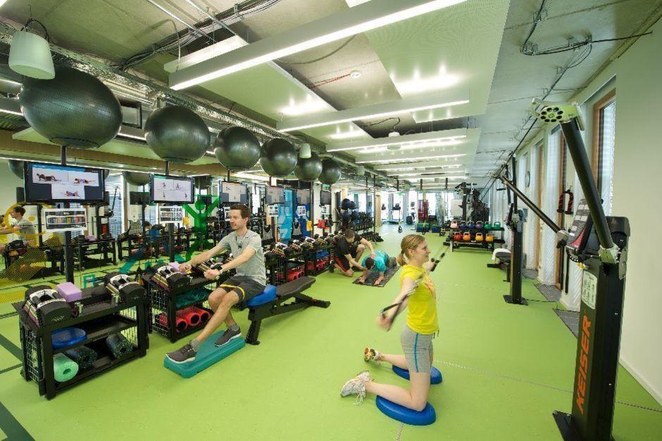 Das Fitness-Studio - Foto: Google