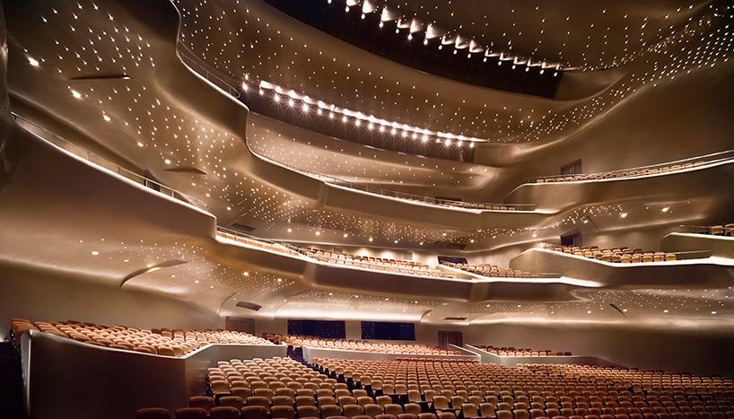 Das Opernhaus in Gangzou