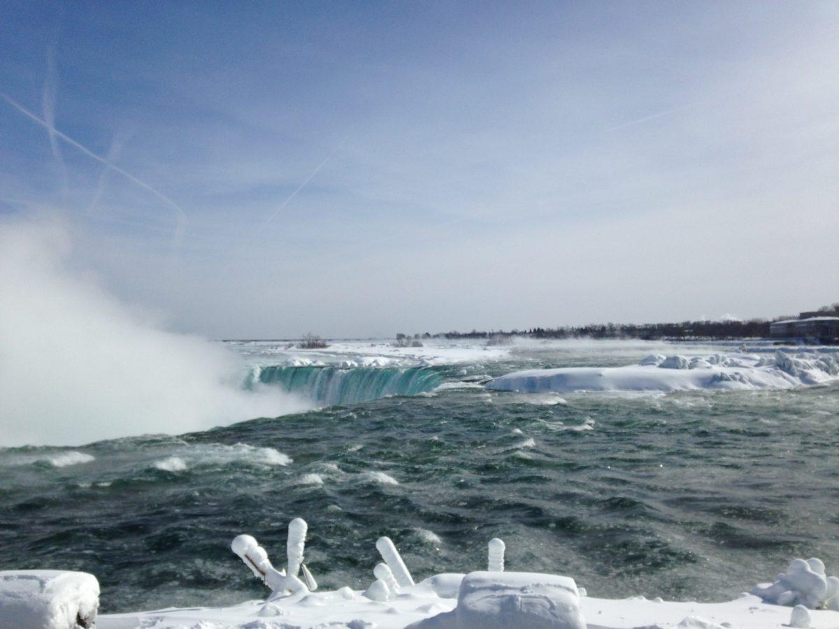 Niagarafälle – direkt am Abgrund