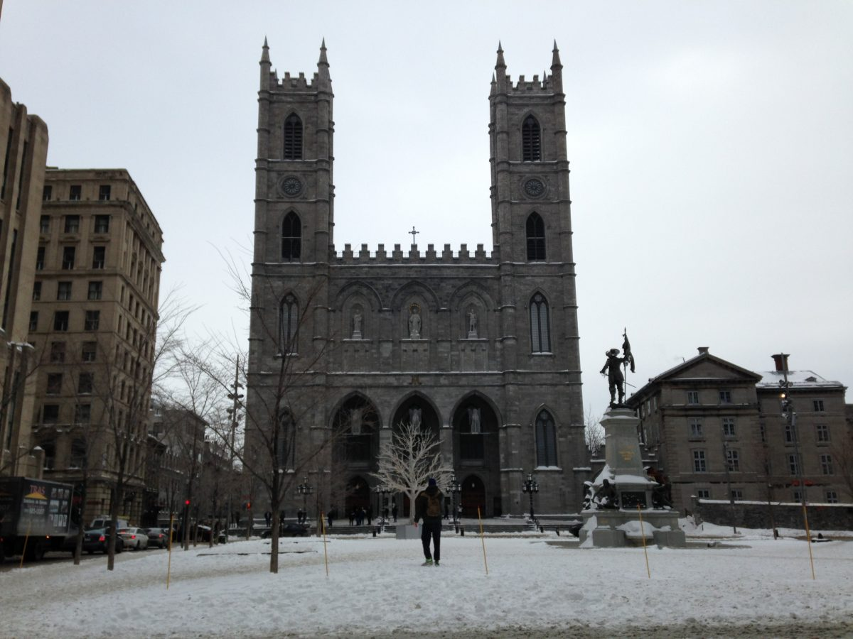 Die imposante Notre Dame de Montréal