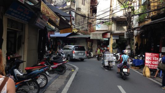 Hanoi ist quirlige Hauptstadt von Vietnam