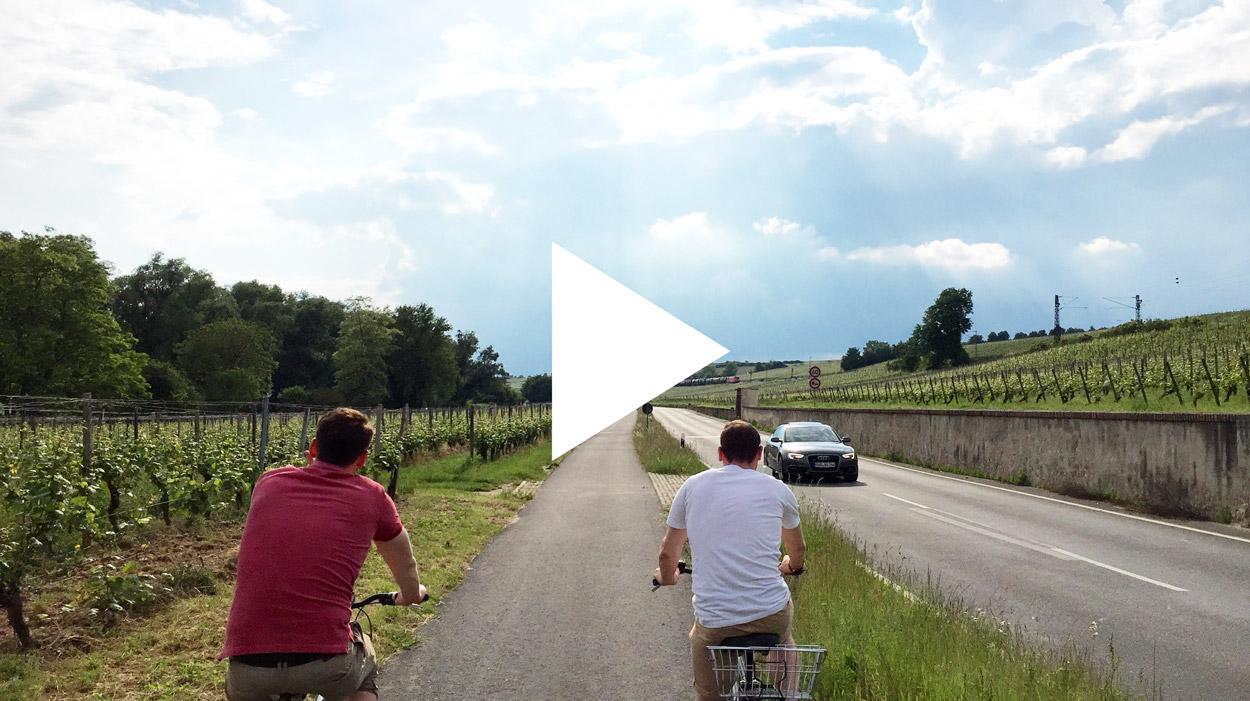 Fahrradtour Wiesbaden