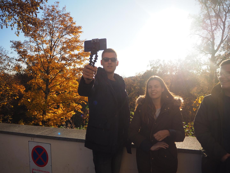 Gipfel Selfie