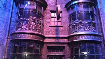Die Ladenfront von Ollivanders