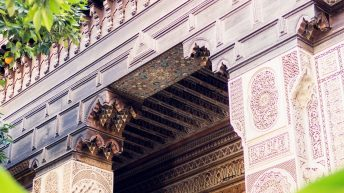 Bahia Palast - Marrakesch