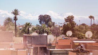 Das Atlasgebirge ist näher als man denkt - Marrakesch